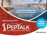 Dr. Chamow at PEPTALK 2018