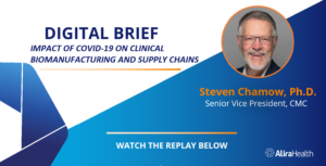 Presentation Available for Impact of COVID-19 on Clinical Biomanufacturing and Supply Chains Digital Brief