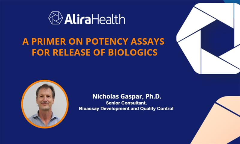 A Primer on Potency Assays for Release of Biologics