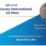 Join Steven Chamow at Bioprocess International US West on March 29-31, 2021