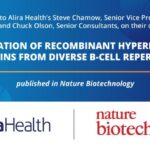 """""""Generation of recombinant hyperimmune globulins from diverse B-cell repertoires"""" publication in Nature Biotechnology"""